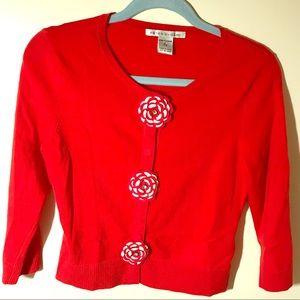 Peter Nygard Red Sweater